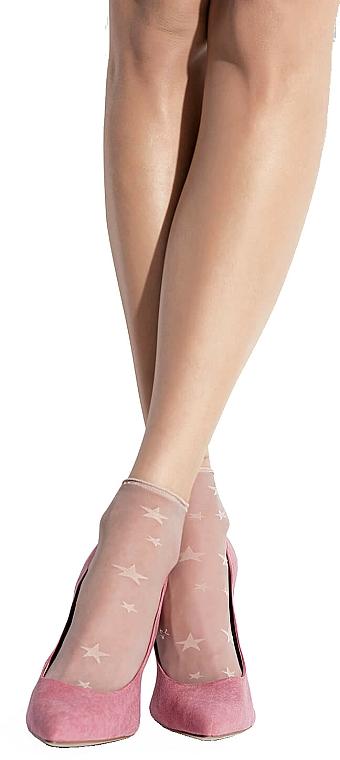 """Women Socks """"Play"""", 20 Den, naturel - Knittex — photo N1"""