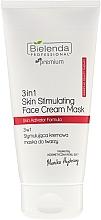 Fragrances, Perfumes, Cosmetics Stimulating Face Cream Mask - Bielenda Professional Individual Beauty Therapy 3in1 Skin Stimulating Face Cream Mask