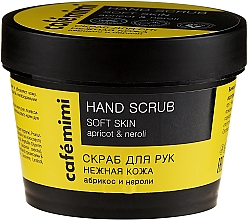"Fragrances, Perfumes, Cosmetics Hand Scrub ""Gentle Skin"" Apricot and Neroli - Cafe Mimi Hand Scrub Soft Skin"
