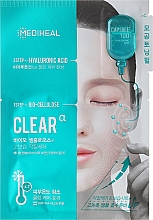 Fragrances, Perfumes, Cosmetics Biocellulose Mask with Hyaluronic Acid - Mediheal Capsule 100 Bio Seconderm Clear Alpha 2 Step Face Mask