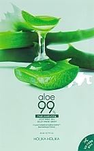 Fragrances, Perfumes, Cosmetics Hydrogel Mask - Holika Holika Aloe 99% Soothing Gel Jelly Mask Sheet