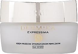 Fragrances, Perfumes, Cosmetics Moisturizing Day Cream - Dermika Expressima Face Cream