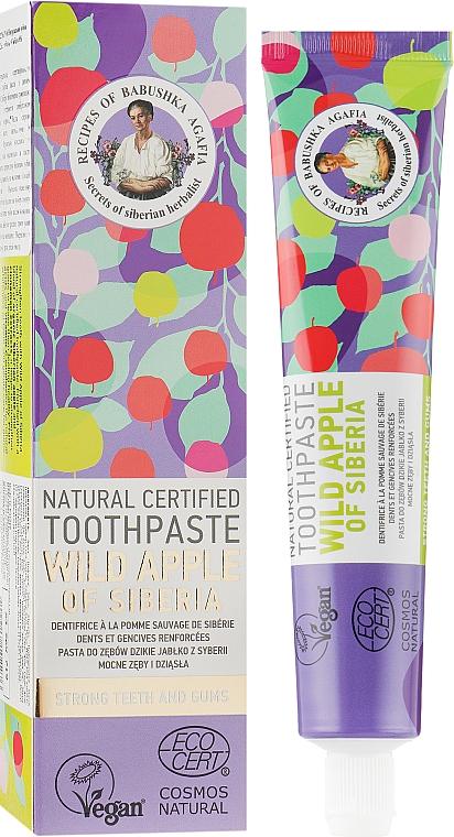 Wild Apple Of Siberia Natural Toothpaste - Retsepty Babushki Agafi