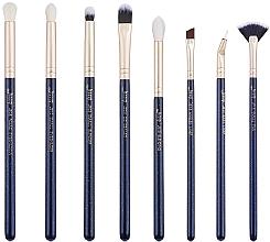 Fragrances, Perfumes, Cosmetics Makeup Brush Set, T487, 8 pcs - Jessup