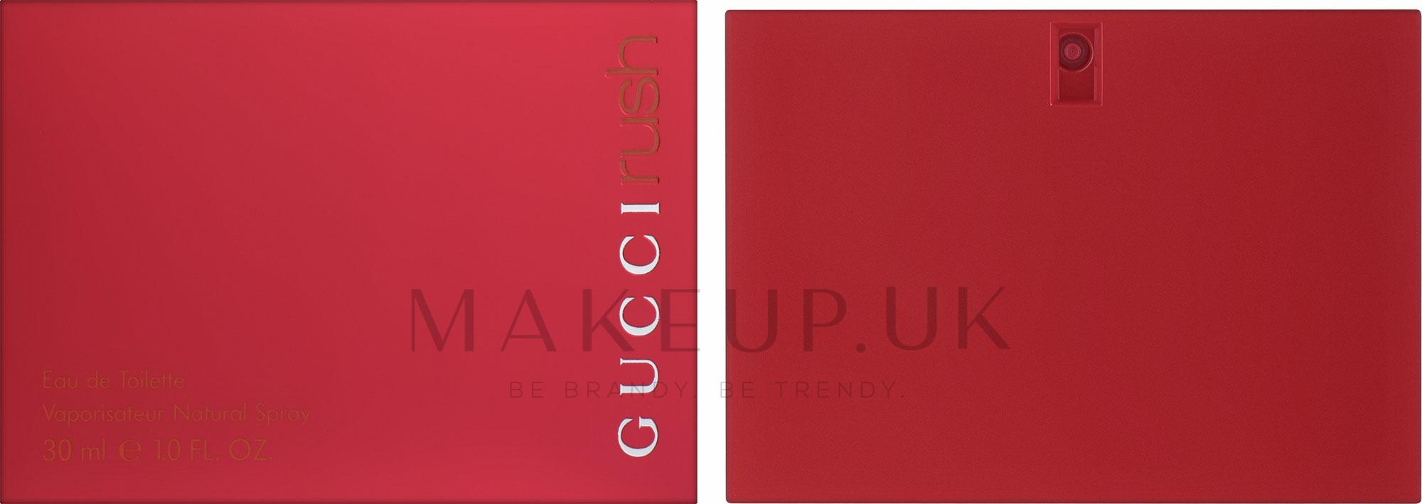 Gucci Rush - Eau de Toilette — photo 30 ml