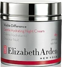 Fragrances, Perfumes, Cosmetics Moisturizing Night Cream - Elizabeth Arden Visible Difference Gentle Hydrating Night Cream