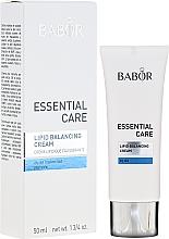 Fragrances, Perfumes, Cosmetics Cream for Dry Skin - Babor Essential Care Lipid Balancing Cream