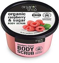 """Fragrances, Perfumes, Cosmetics Body Scrub """"Raspberry & Sugar"""" - Organic Shop Body Scrub Organic Raspberry & Sugar"""