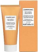 Fragrances, Perfumes, Cosmetics Sun Face Cream - Comfort Zone Sun Soul Face Cream SPF 15