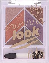 Fragrances, Perfumes, Cosmetics Eyeshadow Palette - Avon Color Trend Savanna Look Eyeshadow Palette