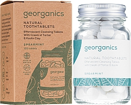 """Fragrances, Perfumes, Cosmetics Tooth Cleansing Tablets """"Spearmint"""" - Georganics Natural Toothtablets Spearmint"""