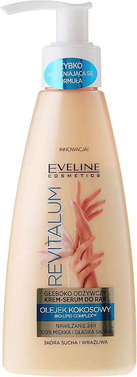 Hand Deeply Nourishing Cream Serum - Eveline Cosmetics Revitalum