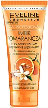 Fragrances, Perfumes, Cosmetics Intensely Strengthening Body Balm, ginger, orange - Eveline Cosmetics Spa Prof