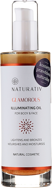 Body Oil - Naturativ Glittering Body Oil