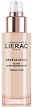 Fragrances, Perfumes, Cosmetics Nourishing Repair Night Face Fluid - Lierac Arkeskin Night Fluide Nutri-redensifiant