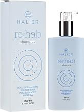 Fragrances, Perfumes, Cosmetics Normalizing Shampoo for Oily Hair - Halier Re:hab Shampoo