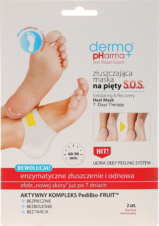 Exfoliating Heel Mask - Dermo Pharma Skin Repair Expert