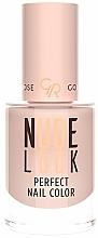 Fragrances, Perfumes, Cosmetics Nail Polish - Golden Rose Nude Look Perfect Nail Color