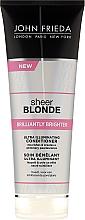 Fragrances, Perfumes, Cosmetics Shine Blonde Hair Conditioner - John Frieda Sheer Blonde Brilliantly Brighter Conditioner