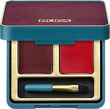 Fragrances, Perfumes, Cosmetics Lip Palette - Pupa Retro Retro illusion Lip Palette