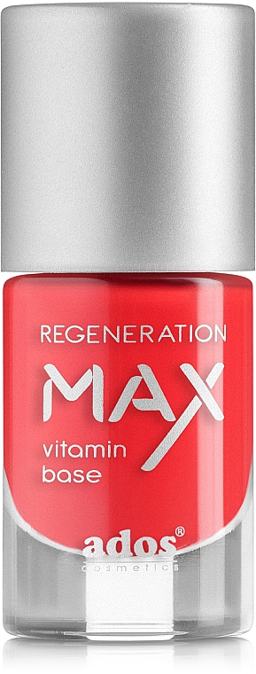 Strengthening & Regenerating Nail Polish - Ados Max Regeneration Vitamin Base