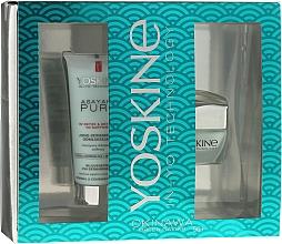 Fragrances, Perfumes, Cosmetics Set - Yoskine Okinava Green Caviar 50+ (cr/50ml + peeling/75ml)