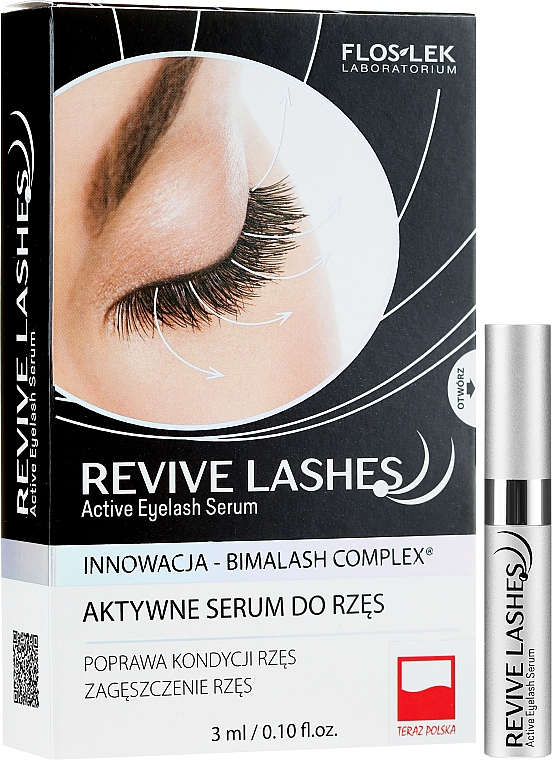 Lash Growth Serum - Floslek Revive Lashes Eyelash Enhancing Serum