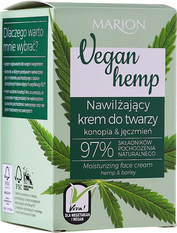 Moisturizing Hemp & Barley Face Cream - Marion Vegan Hemp Moisturizing Face Cream Hemp & Barley