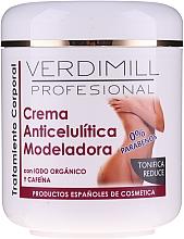 Fragrances, Perfumes, Cosmetics Anti-Cellulite Body Cream - Verdimill Professional Anti-Cellulite Cream