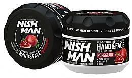 Fragrances, Perfumes, Cosmetics Hand & Face Cream - Nishman Hand & Face Cream Pomegranate