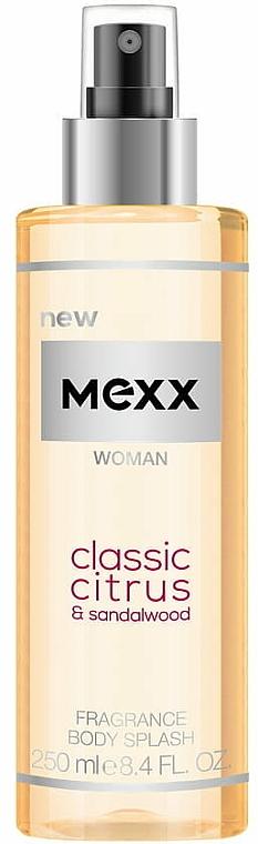 Mexx Woman Classic Citrus & Sandalwood Body Splash - Body Spray