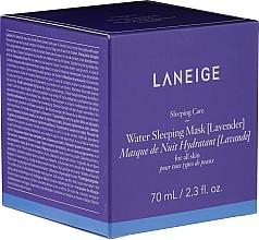 Fragrances, Perfumes, Cosmetics Lavender Moisturizing Face Nigh Mask - Laneige Water Sleeping Mask Lavender
