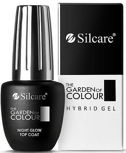 Gel Polish Top Coat - Silcare The Garden of Colour Night Glow Top Coat