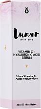 Fragrances, Perfumes, Cosmetics Hyaluronic Acid Face Serum - Lunar Glow Vitamin C Hyaluronic Acid Serum