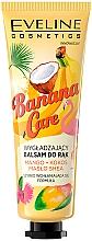 "Fragrances, Perfumes, Cosmetics Smoothing Hand Cream ""Mango, Coconut and Shea Butter"" - Eveline Cosmetics Banana Care"
