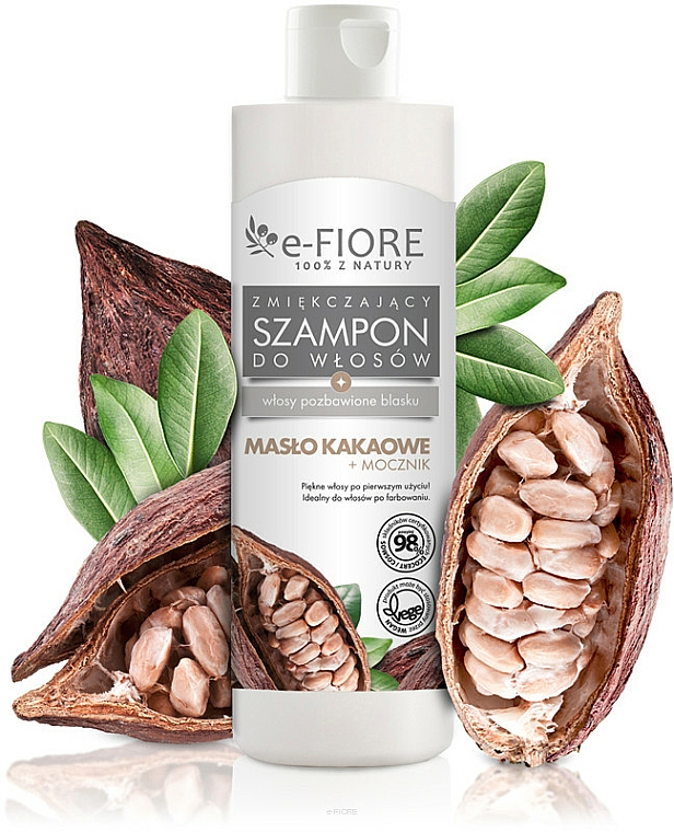 Cocoa Butter and Urea Hair Shampoo - E-Fiori