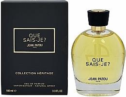 Fragrances, Perfumes, Cosmetics Jean Patou Collection Heritage Que Sais-Je? - Eau de Parfum