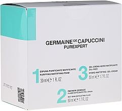 Fragrances, Perfumes, Cosmetics Set - Germaine de Capuccini Purexpert Special Set 1-2-3 Oily (f/foam/30ml + fluid/50ml + f/gel/50ml)