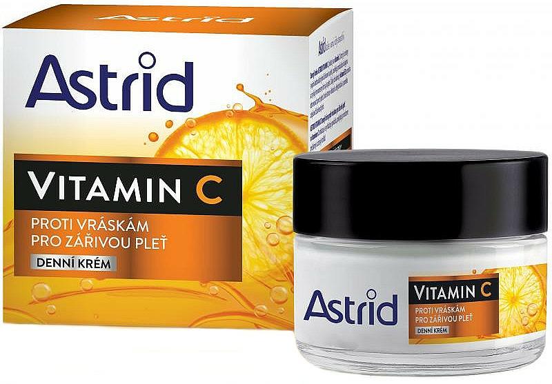 Anti-Wrinkle Vitamin C Day Cream - Astrid Vitamin C Daily Anti-Wrinkle Cream