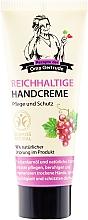 Fragrances, Perfumes, Cosmetics Nourishing Hand Cream - Retsepty Babushki Gertrudy