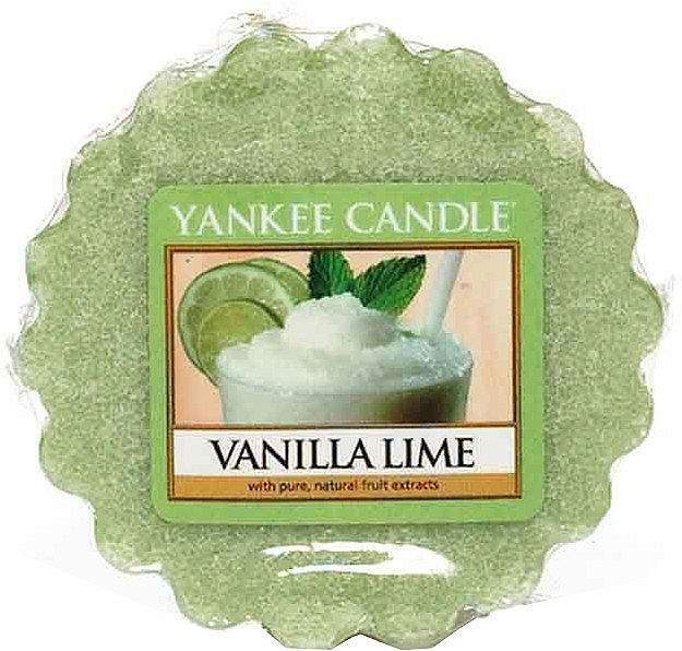 Scented Wax - Yankee Candle Vanilla Lime Wax Melts