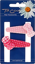 Fragrances, Perfumes, Cosmetics Hairpins, 23675, pink and red - Top Choice