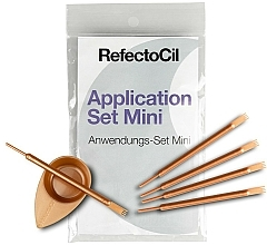 Fragrances, Perfumes, Cosmetics Lash and Brow Coloring Kit - RefectoCil Application Set Mini Rose Gold
