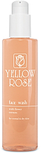 Fragrances, Perfumes, Cosmetics Flower Extracts Cleansing Gel for Normal & Dry Skin - Yellow Rose Face Wash With Flower Extracts