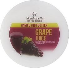 Fragrances, Perfumes, Cosmetics Grape Juice Hand & Foot Cream - Hristina Cosmetics Stani Chef's Grape Juice Hand & Foot Butter