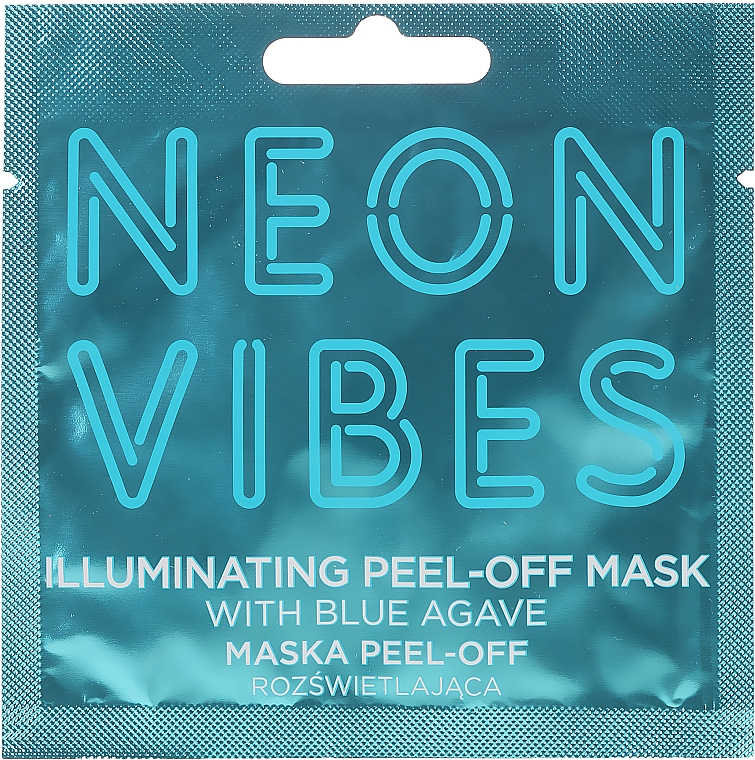 Face Mask - Marion Neon Vibes Illuminating Peel-Off Mask