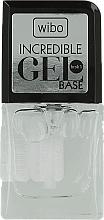 Fragrances, Perfumes, Cosmetics Gel Polish Base Coat - Wibo Incredible Gel Base