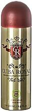 Fragrances, Perfumes, Cosmetics Cuba Royal - Deodorant