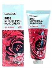 Fragrances, Perfumes, Cosmetics Rose Hand Cream - Lebelage Rose Moisturizing Hand Cream