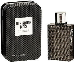 Fragrances, Perfumes, Cosmetics Linn Young Admiration Black - Eau de Toilette